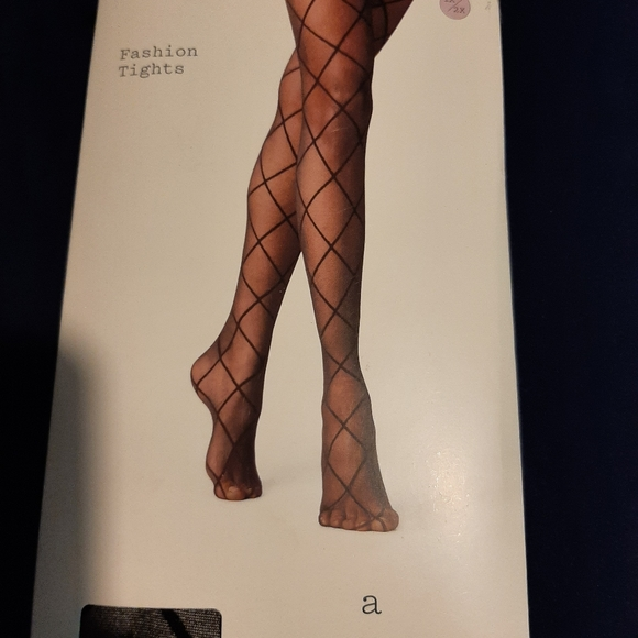 A New Day 1X/2X Fashion Tights Panty Hose
